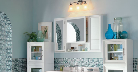 Bath Reno 101: How to Choose Lighting | double sink vanities | Scoop.it