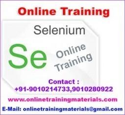 Selenium online training institute in Ameerpet, Selenium Online Training Institute from Hyderabad India.   Online Training Materials   Online Training   Scoop.it