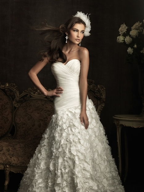 Rent Allure Bridal Dress 8905 Online RentTheDress.com | Wedding Dresses | Scoop.it