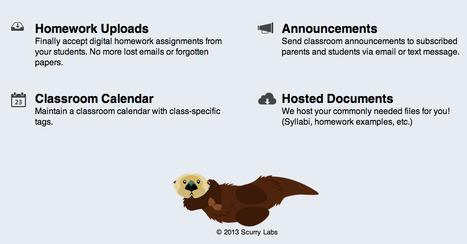 Otter - Homework Uploads and more | Recursos para la clase de inglés | Scoop.it