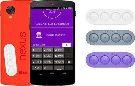 Empresa cria adesivos com botões físicos para celular e tablet Android | Android Brasil Market | Scoop.it