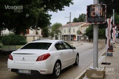 Vittel : un radar pédagogique installé rue de Verdun | Radar Pédagogique | Scoop.it