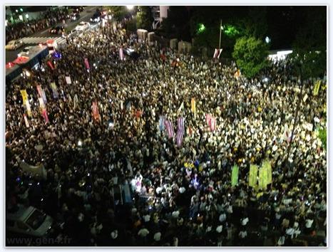 Une nouvelle démonstration anti-nucléaire à Tokyo voit le nombre de manifestants quadrupler en une semaine   Des 4 coins du monde   Scoop.it