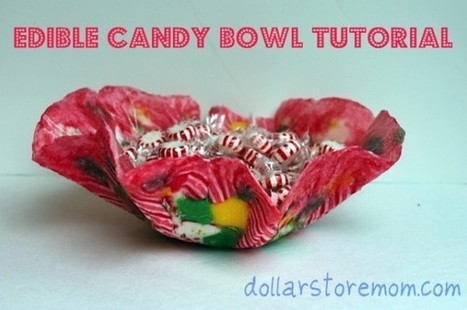 Make an Edible Candy Bowl | Dollar Store Mom Frugal Fun – Crafts for Kids | Random Recipes | Scoop.it