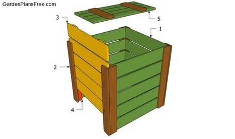Compost Bin Plans Free | Free Garden Plans - How to build garden projects | Diy Projects | Scoop.it