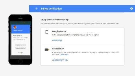 Google Introduces Google Prompt, A New Simpler 2-Step Verification - Prime Inspiration | Mobile | Scoop.it