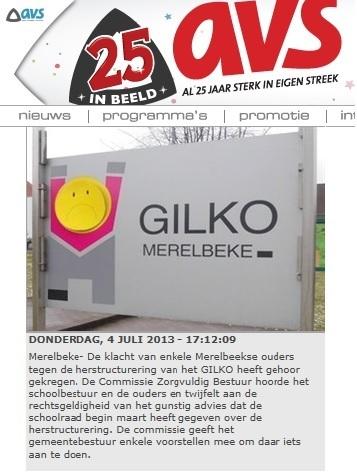 AVS - 'Klacht Merelbeekse ouders tegen herstructurering GILKO heeft gehoor gekregen'   GILKO OP DE FOTO   Scoop.it