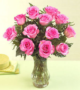 12stems pink roses bouquet deliver to your Friend on her Birthday – Pink_Roses_Bouquet#001 | Collection of flowers | Scoop.it