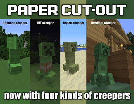Paper Cut-Out 1.6.2 Texture Pack for Minecraft 1.6.2 | minecraft texture pack 1.6.2 | Scoop.it