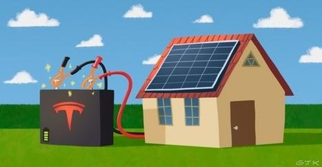 ¿Adiós cuenta de luz? Tesla crea batería para energía solar doméstica   Aleph   Scoop.it
