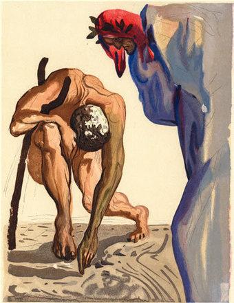 Salvador Dalí's 100 Illustrations of Dante's The Divine Comedy   Favorite Paintings digital   Scoop.it