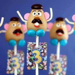 Mr. Potato Head Cake Pops | Food | Disney Baking Recipes | Scoop.it