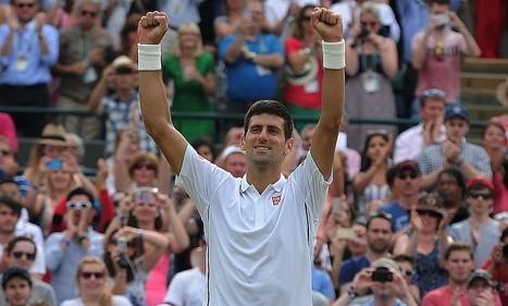 Djokovic through to Wimbledon semi-finals after win against Cilic   Tennis 2014   Scoop.it