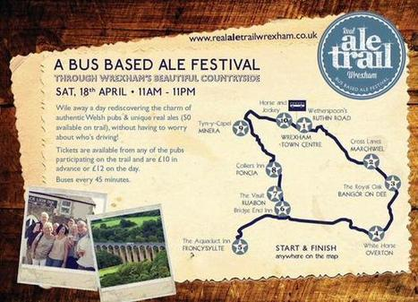 Wrexham Ale Trail on Twitter | Pubs and real ale | Scoop.it