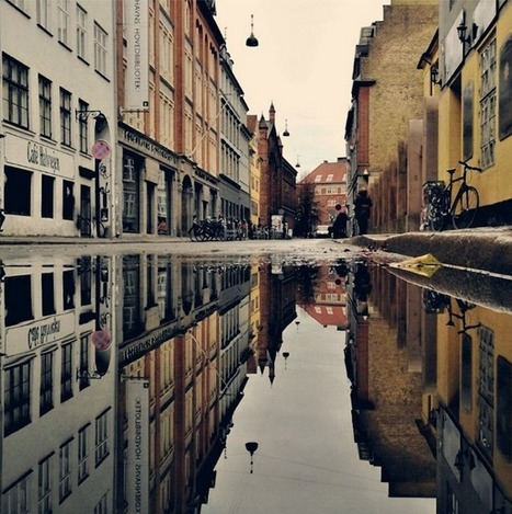Unique Reflective Cityscapes Turn Copenhagen Upside Down | Le It e Amo ✪ | Scoop.it