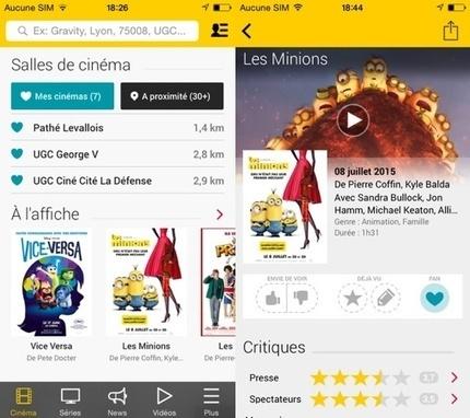 AlloCiné sur iOS propose une nouvelle interface pour plus de clarté - iPhoneAddict   Applications Iphone, Ipad, Android et avec un zeste de news   Scoop.it