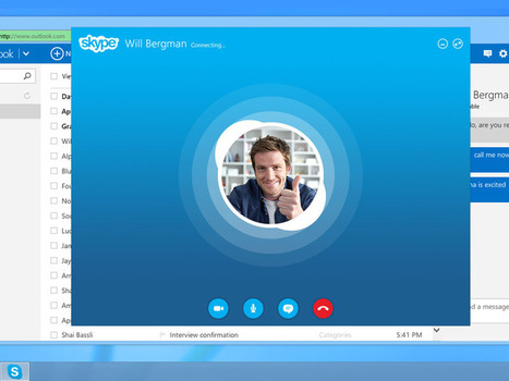 Skype For Outlook.com Now Available Worldwide For All Users | Windows 8 Apps | Scoop.it