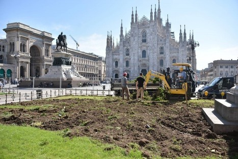 Milan's Piazza Duomo is Going Green | Italia Mia | Scoop.it