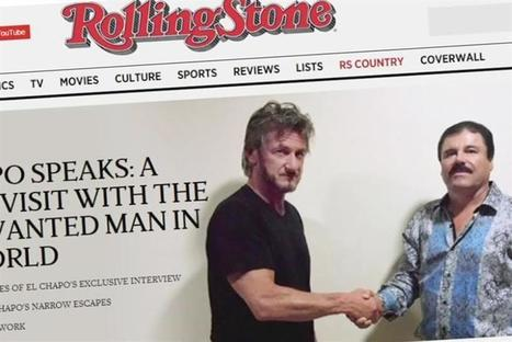 When storytellers become the story: Sean Penn and Rolling Stone | Transmedia: Storytelling for the Digital Age | Scoop.it
