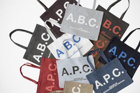 A.P.C X Art Berlin Contemporary Tote Bags | Artistic startups Berlin | Scoop.it