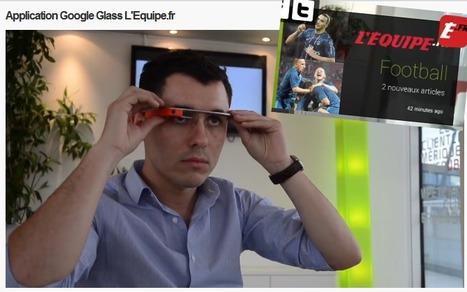 L'Équipe.fr expérimente la première application Google Glass réalisée en Europe | DocPresseESJ | Scoop.it
