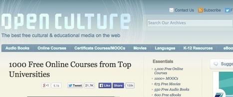 Τα καλύτερα sites για δωρεάν online εκπαίδευση | TICE et Web 2.0 | Scoop.it