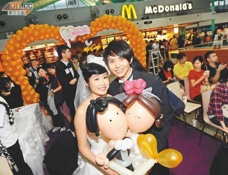 McDonald's Restaurants Becoming Popular Wedding Venues in Hong Kong | Strange days indeed... | Scoop.it