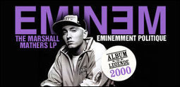 EMINEM, ALBUM 'THE MARSHALL MATHERS LP', 2000 | Eminem, committed artist or challenging ? | Scoop.it