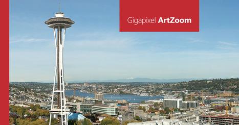 Gigapixel ArtZoom y como no pixela el zoom con una foto de  20.000 megapixel | Tecnología 2015 | Scoop.it