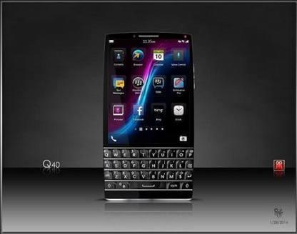 BlackBerry Q40 Concept Next Version | BlackBerry Q40 Concept Phone | NewHiTechGadgets | Scoop.it
