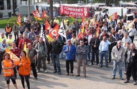Nouvelle République : Conditions de travail : deux cents dans la rue - social | ChâtelleraultActu | Scoop.it