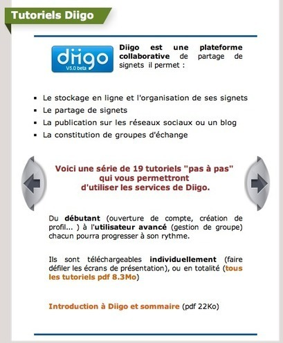 Excellents tutoriels sur Diigo - pdf 47 pages | François MAGNAN  Formateur Consultant | Scoop.it