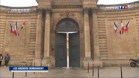 Les archives nationales : le grand déménagement | GenealoNet | Scoop.it