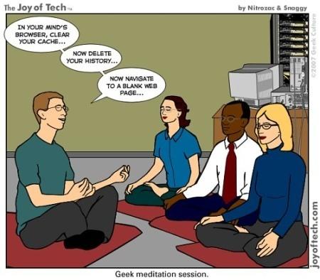 Meditación Geek | Punto Geek | Maestr@s y redes de aprendizajes | Scoop.it