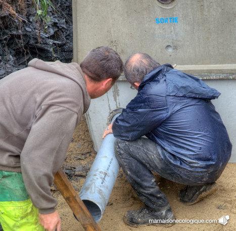 Jour 36, le filtre non drainé et les cuves pour eaux de pluie « Ma Maison écologique ou la maison en bois | maisons bois | Scoop.it