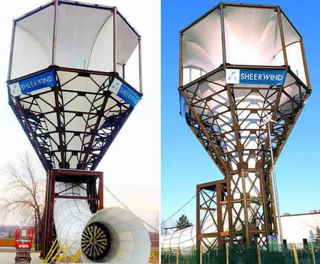 Invelox. Turbina que puede generar el 600 % más de energía que las convencionales | tecno4 | Scoop.it