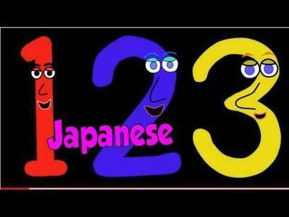 Numbers Song in Japanese すうじのうた' | Learning Japanese | Scoop.it