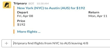 In-app travel search continues, Slack fans can now find flights | Hospitality and beyond! | Scoop.it