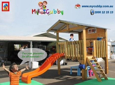 Melbourne Best Quality Cubby Houses | Cubby Houses | Scoop.it