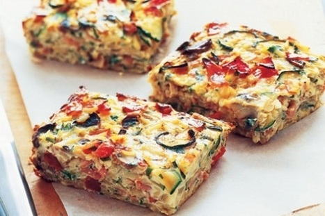An Incredible Tofu Veggie Frittata! | Food aur Mood | Nice one | Scoop.it