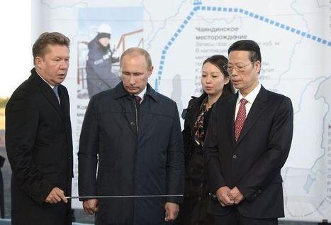 Poutine lance le chantier d'un gazoduc vers la Chine ' Histoire de la Fin de la Croissance ' Scoop.it