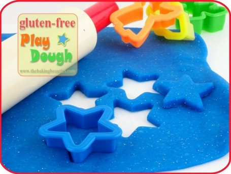 Gluten-free Play Dough | The Baking Beauties | Living Gluten free | Scoop.it