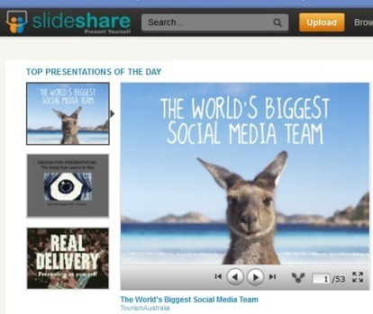 How to Use SlideShare to Generate Leads | Social Media Examiner | Social Media Landscape | Scoop.it