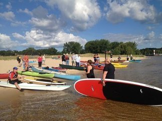 Muskegon Boat Time: First Community Paddle draws nearly 60 on to Muskegon Lake | Lake Effect... Relax, Refresh, Repeat! | Scoop.it