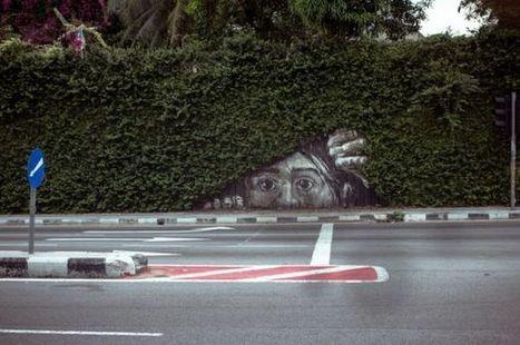 Street Art: No Peeking! | John | Scoop.it