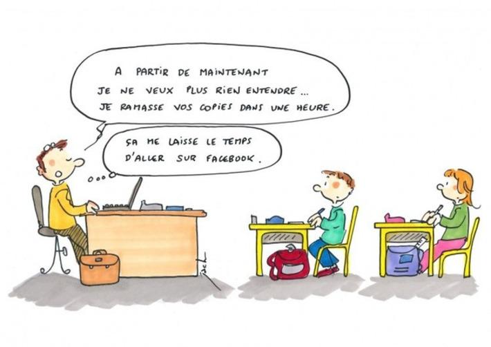 Numérique à l'école : de quoi occuper les profs pendant les devoirs sur table ? | TIC et TICE mais... en français | Scoop.it
