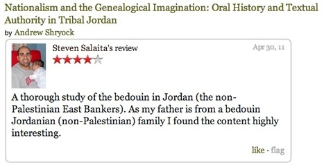 Steven Salaita, Palestinian? | Martin Kramer on the Middle East | Scoop.it