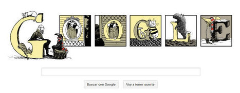 Google convierte su doodle en una inquietante ilustración del dibujante Edward Gorey   Noticia   Cadena SER   Queremos MusicArte   Scoop.it