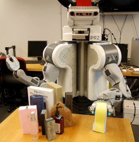 Finally: Robots Learn What 'Squishy' Really Means   Artificial Intelligence   Scoop.it