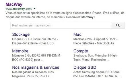 Nouveauté Google : un champ de recherche interne directement dans les SERP - JVWEB | Media - ES | Scoop.it